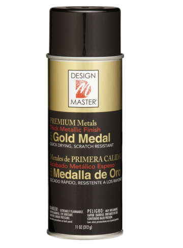Design Master: Gold Medal from Michaels Craft Store $7.99